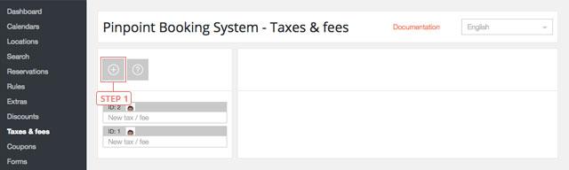 Añadir impuestos & tasas de