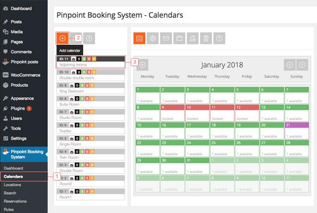Crear un calendario